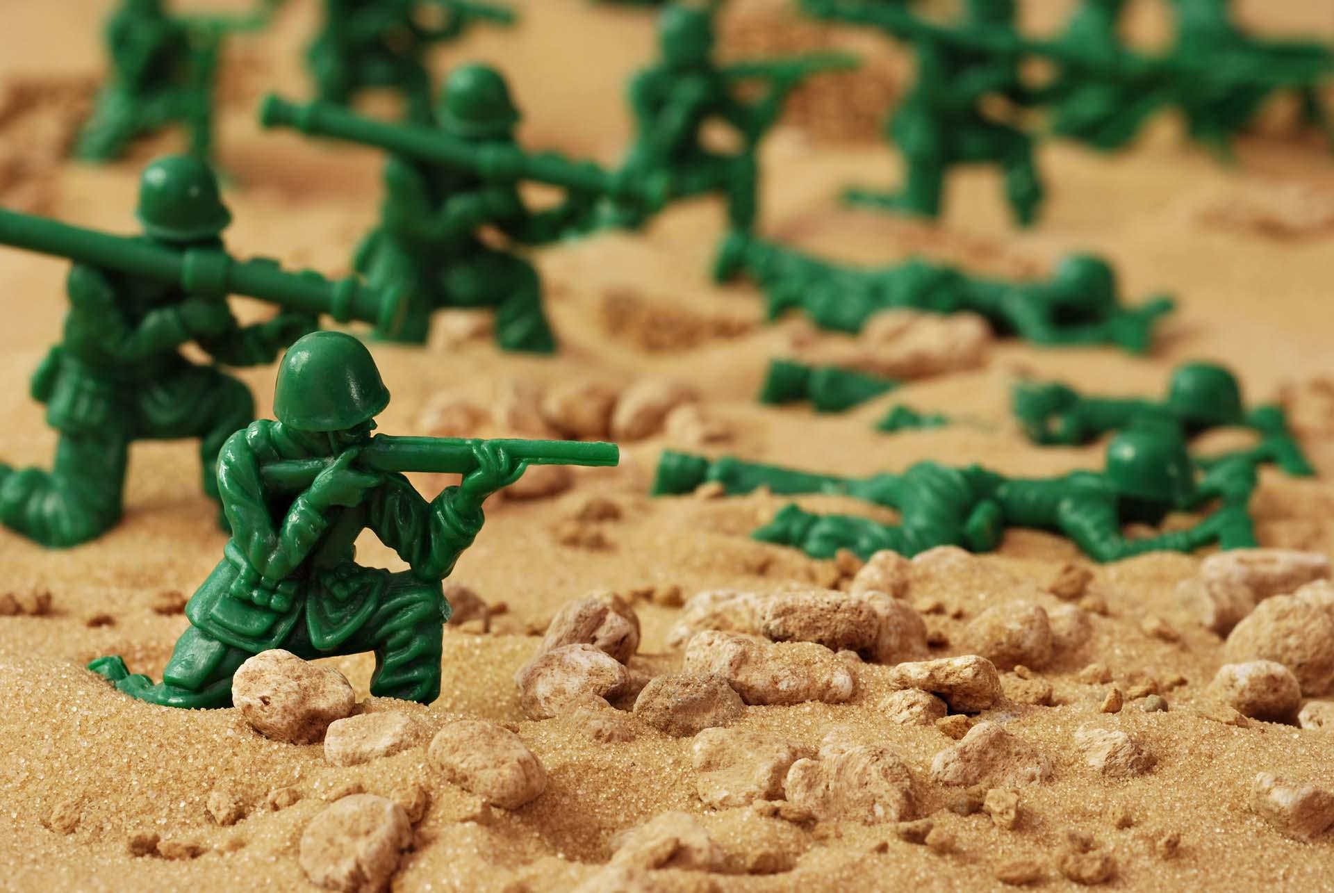 חדר בריחה בפתח תקווה חיילי צעצוע